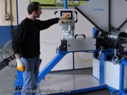 Yuvarlak Kanal Makinesi Spiral Boru Makinası